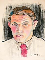 Johnny Potthof (1911-2003), Selbstporträt von 1932. (Bild: www.hanspotthof.ch)