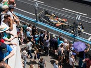 Beim E-Prix in Zürich waren 150'000 Zuschauer vor Ort (Bild: KEYSTONE/ENNIO LEANZA)