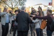 Der Bundesrat will elektronische Medien fördern. (Bild: Benjamin Manser (St. Gallen, 11. Oktober 2018))