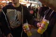 Der Alkoholkonsum ist während der Olma massiv erhöht – das bleibt nicht ohne Folgen. (Archivbild: Coralie Wenger)
