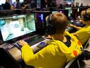 Swisscom gründet eigene E-Sports-Liga. (Bild: KEYSTONE/MELANIE DUCHENE)