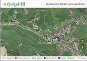 Zehn Fragen bis zum Ziel: Der «Rundweg Dorf» enthält eine neue Komponente. (Bild: PD)
