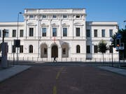 Die Bundesanwaltschaft fordert vier Jahre Freiheitsstrafe für einen Italiener wegen Mitgliedschaft in der 'Ndrangheta. Die Verteidigung will einen Freispruch. (Bild: KEYSTONE/TI-PRESS/ALESSANDRO CRINARI)