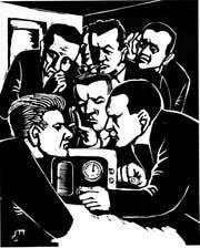 «Der illegale Radiosender» Werk von 1940. (Bild: PD)