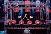 Schneller, höher, weiter: Bei «Ninja Warrior Switzerland» wird den Kandidaten einiges abverlangt, am Schluss gewinnt immer der Parkour. (Bild: TV24)