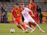 Verteidiger Nico Elvedi gehörte zu den Besten im Schweizer Team (Bild: KEYSTONE/AP/GEERT VANDEN WIJNGAERT)