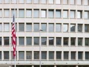 Die Schweiz will einen neuen Anlauf für ein Freihandelsabkommen mit den USA unternehmen. Nach Ansicht von Finanzminister Ueli Maurer stehen die Chancen für einen erfolgreichen Abschluss gut. (Bild: Keystone/PETER KLAUNZER)
