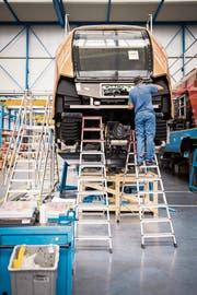 Bei der Stadler in Bussnang ist der Fachkräftemangel deutlich spürbar. (Bild: Reto Martin)