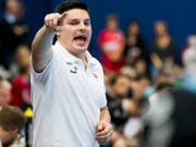 BSV-Trainer Aleksandar Stevic coachte seine Mannschaft im EHF-Cup gegen Spartak Moskau zum hohen Heimsieg (Bild: KEYSTONE/CHRISTIAN MERZ)