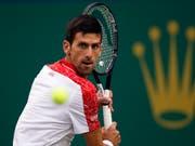 Novak Djokovic zeigt im Final von Schanghai erneut eine tadellose Leistung (Bild: KEYSTONE/AP/ANDY WONG)