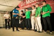 Am Saisonabschluss des Thurgauer Schwingerverbandes wird auch der Nachwuchs geehrt. (Bild: Reto Martin)