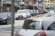 Die meisten Pendler, die in Gossau arbeiten, kommen mit dem Auto.