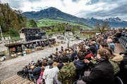 Vor vier Jahren führte Swissint einen Öffentlichkeitsanlass durch. Dabei wurden realitätsnahe Szenarien nachgestellt. (Bild: PD)