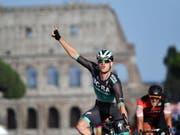 Der Ire Sam Bennett aus dem deutschen Team Bora-Hansgrohe gewann drei von sechs Etappe der diesjährigen Türkei-Rundfahrt (Bild: KEYSTONE/EPA ANSA/DANIEL DAL ZENNARO)