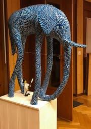 Eine Elefantenskulptur von Hans Lager-Disler. (Bild: PD)