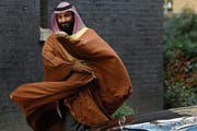Der saudi-arabische Kronprinz Mohammed bin Salman. (Bild: Alastair Grant/AP (7. März 2018))