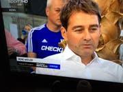 FCL-Trainer René Weiler am Sonntag als Gast in der Sendung Doppelpass von Sport1. (Bild Screenshot Sport1)