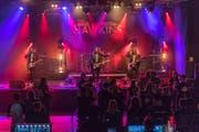 The Hawkins bei ihrem Auftritt am Metal Scar. (Bild: Dani Lüthi (Sachseln, 13. Oktober 2018))