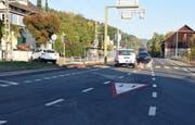 Auf der Kreuzung in Mosen sind ein Lieferwagen und ein Personenwagen kollidiert (Bilder: Luzerner Polizei)
