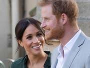 Prinz Harry und Herzogin Meghan erwarten im Frühling 2019 Nachwuchs. (Bild: Keystone/EPA/VICKIE FLORES)