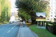 Eine vierte LED-Tafel an der Leestrasse folgt. (Bild: Marco Cappellari)