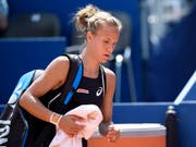 Viktorija Golubic verlässt den Platz als Verliererin. (Bild: KEYSTONE/ANTHONY ANEX)