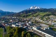 Vor allem im Gebiet Luzern Süd wächst die Gemeinde Kriens stark, was zusätzliche Steuereinnahmen zur Folge haben soll. (Archivbild LZ/Pius Amrein)