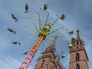 Die Herbstmesse lockt immer mehr auswärtige Besuchende nach Basel. (Bild: KEYSTONE/GEORGIOS KEFALAS)