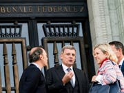 Millionenklage von ukrainischen Ölfirmen gegen Moskau: Nach einem Entscheid des Bundesgerichts in Lausanne (Bild) ist ein Genfer Schiedsgericht für den Fall zuständig. (Bild: Keystone/JEAN-CHRISTOPHE BOTT)
