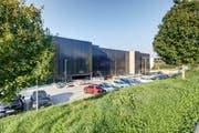 Das neue Parkhaus. (Bild: Luzerner Kantonsspital)