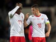 Granit Xhaka (10) freut sich auf das abschliessende Spiel gegen Belgien (Bild: KEYSTONE/ENNIO LEANZA)
