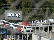 Amag hat laut Weko freie Händler nicht diskriminiert. (Bild: KEYSTONE/WALTER BIERI)