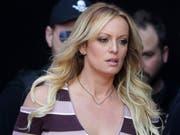US-Präsident Donald Trump hat in den juristischen Auseinandersetzungen mit Pornodarstellerin Stormy Daniels einen Erfolg erzielt. (Bild: KEYSTONE/AP/MARKUS SCHREIBER)