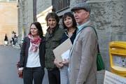 Auch SP-Nationalrätin Claudia Friedl (links) unterstützt die Petition.