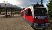 Visualisierung des neuen Stadler-Zuges für die Elektrische Tatrabahn. (Bild: PD)