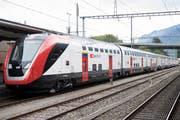 Der neue Fernverkehrszug der SBB von Bombardier. Noch muss er Hürden bei der Zulassung nehmen, danach wird er auch in der Ostschweiz eingesetzt. (Bild: Anthony Anex/KEY - 11. Mai 2017)