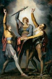 «Rütlischwur», ein Gemälde aus dem Jahr 1780.