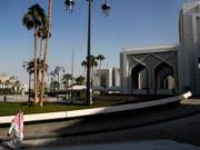 Die Liste der Absagen prominenter Wirtschaftsvertreter für eine Investorenkonferenz in Riad wird immer länger. (Bild: KEYSTONE/AP Reuters pool/LEAH MILLS)