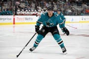 Der Vertrag des Herisauers Timo Meier bei den San Jose Sharks läuft Ende Saison aus - er muss sich beweisen. (Bild: Ezra Shaw/Getty Images)