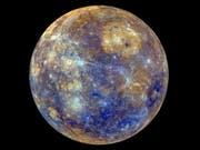 Die Reise der Sonde von der Erde zum Planeten Merkur dauert über sieben Jahre. (Bild: KEYSTONE/EPA ESA/NASA/JHU APPLIED PHYSICS LAB)
