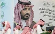 Unter Beschuss: der saudische Kronprinz Mohammed bin Salman. (Bild: Karim Sahib/AFP (Dubai, 16. Oktober 2018))