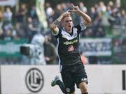 Luganos Mattia Bottani avanciert mit einem Treffer und einem Assist zum Matchwinner (Bild: KEYSTONE/TI-PRESS/FRANCESCA AGOSTA)