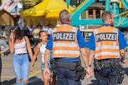 Die erhöhte Präsenz ihrer Beamtinnen und Beamten hat sich gemäss Bilanz der Stadtpolizei auch an der Olma 2018 ausgezahlt. (Bild: Urs Bucher - 15. Oktober 2018)