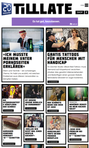 Screenshot der Internetseite Tilllate. (Bild: Tilllate.ch)