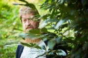 Für Sam Hess ist der Wald «eine Oase der Ruhe und der Stille». (Bild: Jakob Ineichen, 17. Oktober 2018)