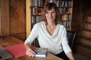 Die Buchautorin Daniela Schwegler las in Wattwil aus ihrem aktuellsten Buch. (Bild: Nana do Carmo)