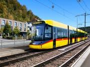 Visualisierung einer Tramlink-Stadtbahn von Stadler für die Waldenburgerbahn. (Bild: PD)