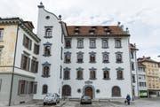 Historische Kulisse für historische Vorträge: Das Stadthaus der St.Galler Ortsbürgergemeinde. (Bild: Daniel Dorrer)