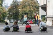 Der Ausbau der Tagesbetreuung von Schulkindern - im Bild im alten Schulhaus St.Fiden - ist unbestritten. Ein Thema bei der Budgetdebatte im Stadtparlament wird aber sein, wie rasch ein Vollausbau anzustreben ist. (Bild: Hanspeter Schiess - 23. Oktober 2018)