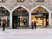 Online-Shopping setzt Mieten für Ladenflächen unter Druck. (Bild: KEYSTONE/CHRISTIAN BEUTLER)
